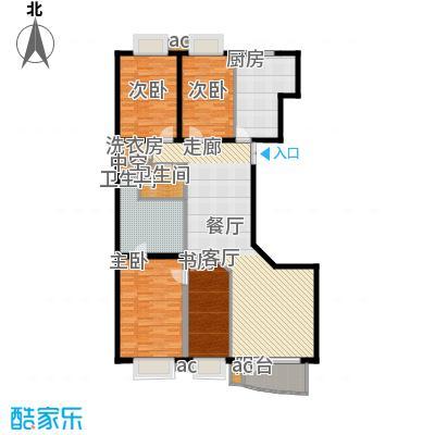 绿洲华庭苑别墅绿洲华庭苑别墅户型图上海绿洲华庭苑户型图3室2厅2卫1厨户型3室2厅2卫1厨