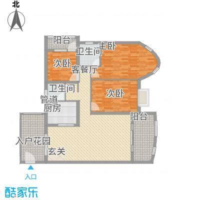 鸿景花园137.29㎡鸿景花园户型图3室2厅户型图3室2厅2卫2厨户型3室2厅2卫2厨