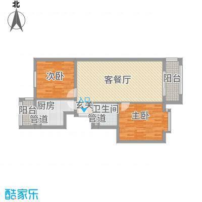 皇骐爱丽舍皇骐爱丽舍2室2厅1卫1厨户型10室