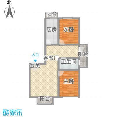 江南印象108.00㎡江南印象户型图1082室2厅户型2室2厅
