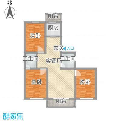 江南印象111.00㎡江南印象户型图111-1222室2厅2卫户型2室2厅2卫