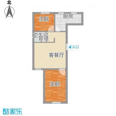 江南印象71.00㎡江南印象户型图71-722室2厅户型2室2厅
