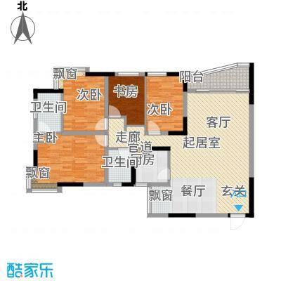 名门世家121.74㎡名门世家户型图户型图84室2厅2卫1厨户型4室2厅2卫1厨