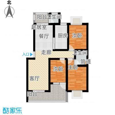 和兴花园四期75.00㎡和兴花园四期2室户型2室
