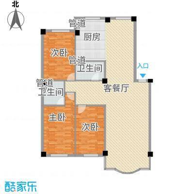 东大智慧鑫园156.76㎡东大智慧鑫园户型图3室2厅2卫户型10室