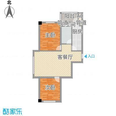 瑞盛佳园 2室 户型图