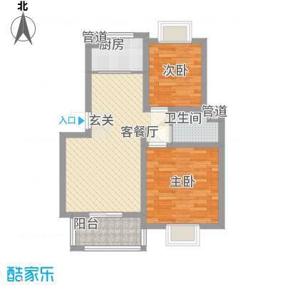 荣富饭店77.00㎡荣富饭店2室户型2室