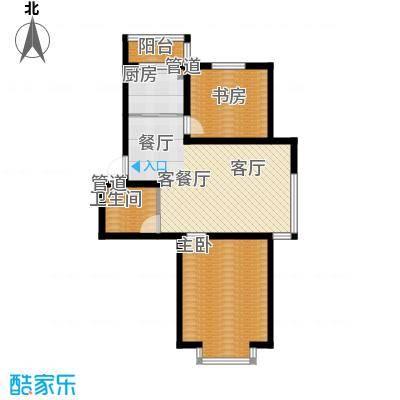一毛小区 1室 户型图