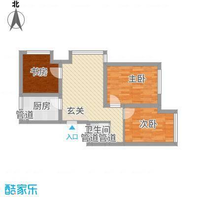 宏发・英树70.00㎡宏发・英树2室户型2室