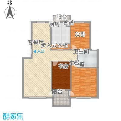 顺德园130.25㎡顺德园户型图3室2厅1卫户型10室