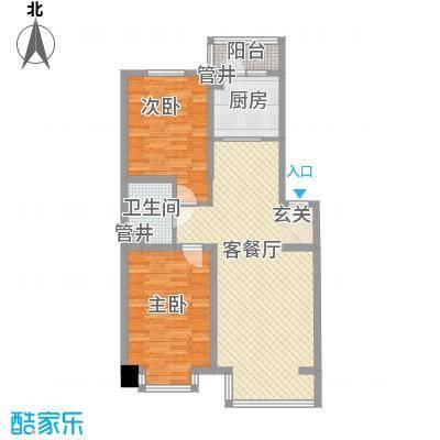 化院小区106.00㎡化院小区2室户型2室