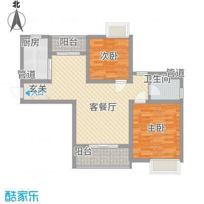 北华苑北华苑一期2室2厅1卫1厨户型10室
