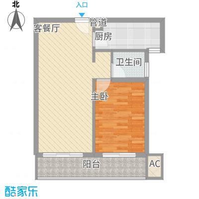 金沙丽晶苑68.00㎡上海翠逸丽晶(金沙丽晶苑)户型10室