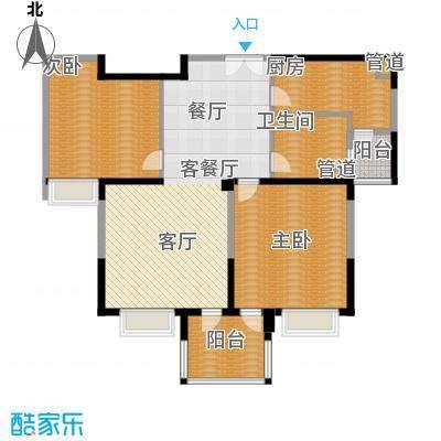 御庭国际公寓125.00㎡御庭国际公寓户型图户型图2室2厅1卫1厨户型2室2厅1卫1厨
