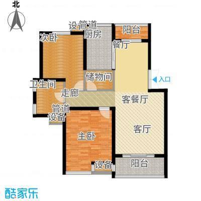 御庭国际公寓110.00㎡御庭国际公寓户型图户型图2室2厅1卫1厨户型2室2厅1卫1厨