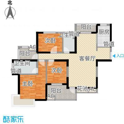 金地格林世界高尔夫公馆138.00㎡上海金地格林世界高尔夫公馆户型10室