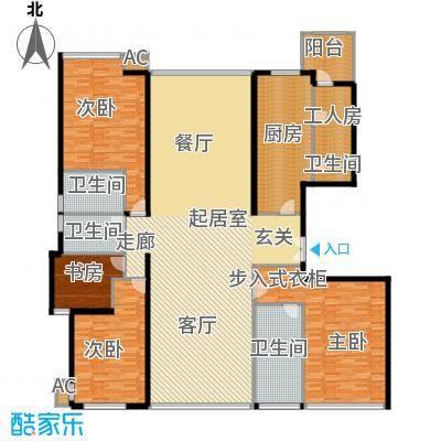 东方曼哈顿尚东区256.00㎡上海东方曼哈顿尚东区户型10室