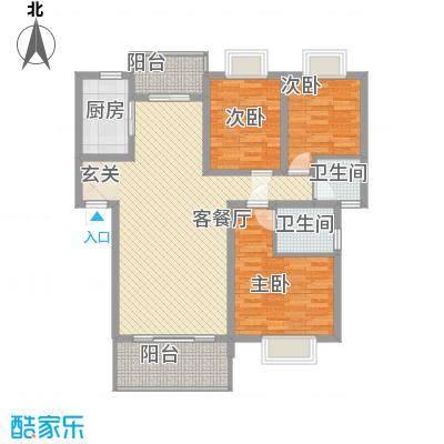 锦华苑锦华苑户型图户型图3室2厅2卫1厨户型3室2厅2卫1厨