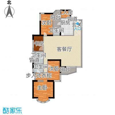 城市绿洲花园深圳城市绿洲花园一期户型图4户型10室