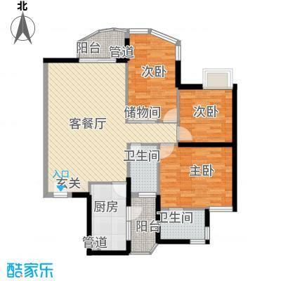 城市绿洲花园深圳城市绿洲花园一期户型图3户型10室