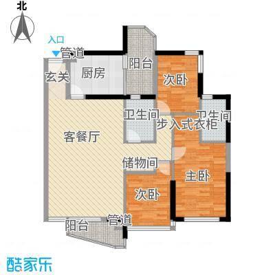 城市绿洲花园深圳城市绿洲花园一期户型图11户型10室