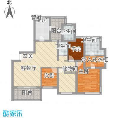 盈中新村114.00㎡盈中新村4室户型4室