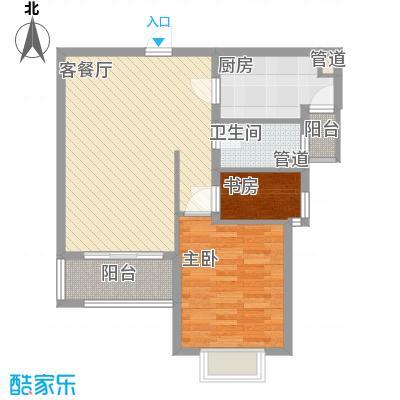 万里晶品苑66.00㎡万里晶品苑1室户型1室