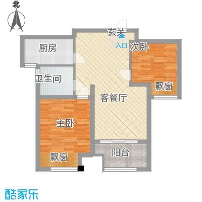 东风公寓(青浦)89.00㎡东风公寓(青浦)2室户型2室