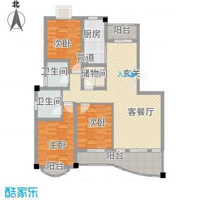 文化花园明珠苑138.85㎡上海文化花园明珠苑户型10室