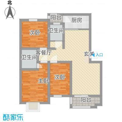 园东新村95.00㎡园东新村户型图户型图3室2厅2卫1厨户型3室2厅2卫1厨