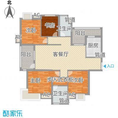 金地格林世界高尔夫公馆164.00㎡上海金地格林世界高尔夫公馆户型10室