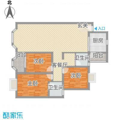 龙城国际龙城国际户型图三房二厅二卫一厨3室2厅2卫1厨户型3室2厅2卫1厨