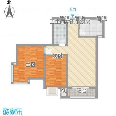 三湘盛世花园98.00㎡三湘盛世花园2室户型2室