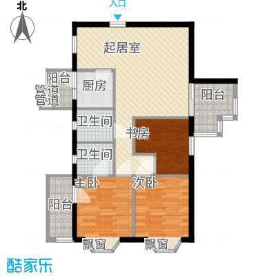 时代华庭深圳时代华庭户型图1户型10室