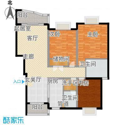 狮山峰汇147.00㎡狮山峰汇户型图户型图3室2厅2卫1厨户型3室2厅2卫1厨