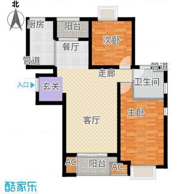 青庭国际公寓99.00㎡青庭国际公寓户型图户型图2室2厅1卫1厨户型2室2厅1卫1厨