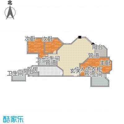华山丽苑上海华山丽苑户型10室