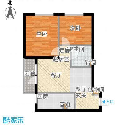 兴华园社区兴华园社区户型图兴华园2室1厅1卫1厨户型2室1厅1卫1厨