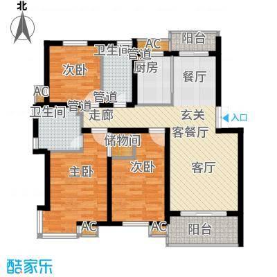 大地之歌96.00㎡大地之歌户型图户型图3室2厅2卫1厨户型3室2厅2卫1厨