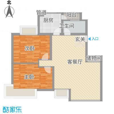 金枫苑阳光水岸105.00㎡金枫苑阳光水岸户型10室