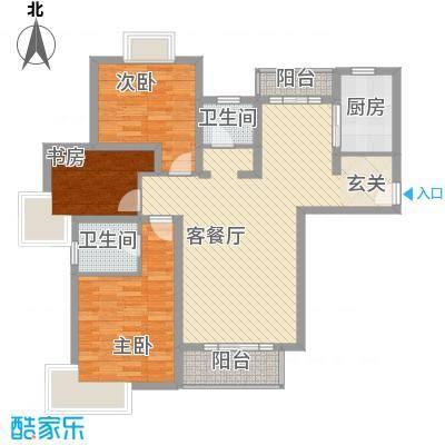 徐汇新干线123.00㎡上海徐汇新干线(明丰新纪苑)二期户型10室