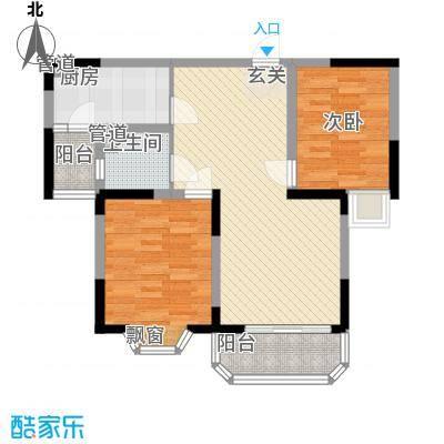 城市枫景90.00㎡城市枫景户型图户型图2室2厅1卫1厨户型2室2厅1卫1厨