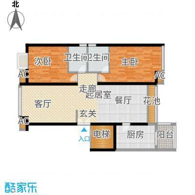 东方曼哈顿尚东区123.00㎡上海东方曼哈顿尚东区户型10室