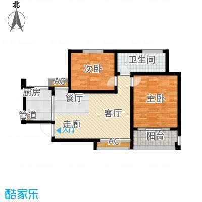 嘉业阳光假日嘉业阳光假日户型图户型1-面积约85.79平米2室2厅1卫1厨户型2室2厅1卫1厨