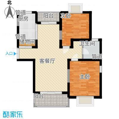 珠江香樟南园二期97.65㎡珠江香樟南园二期户型图2室1厅1卫1厨户型10室