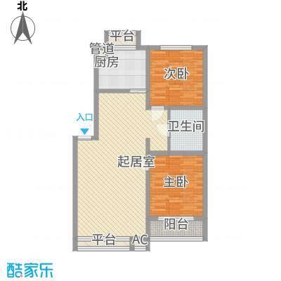 旭辉玫瑰湾90.00㎡旭辉玫瑰湾3室户型3室