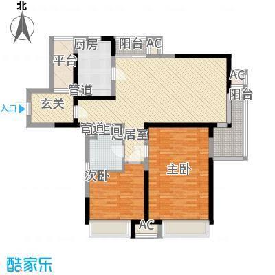 旭辉玫瑰湾140.00㎡旭辉玫瑰湾3室户型3室