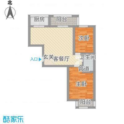 园东新村65.00㎡园东新村户型图户型图2室2厅1卫1厨户型2室2厅1卫1厨