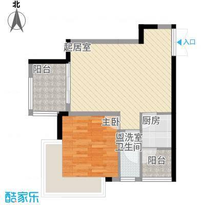 东津名座东津名座(1、2栋C/D)1室户型1室