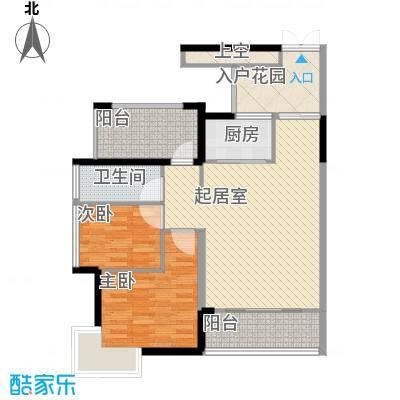 东津名座东津名座(1、2栋E/F)2室户型2室